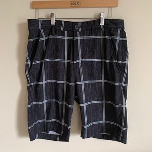 Billabong Platinum Stretch Plaid Board Shorts